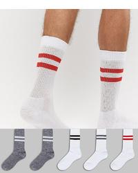 weiße Socken von ASOS DESIGN