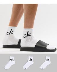 weiße Socken von Calvin Klein