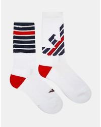 weiße Socken von Emporio Armani
