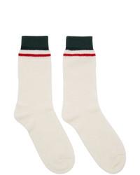 weiße Socken von Gucci