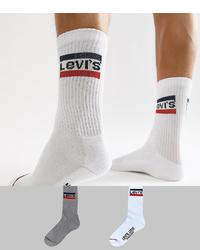 weiße Socken von Levi's