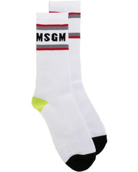 weiße Socken von MSGM