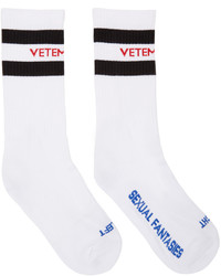 weiße Socken von Vetements