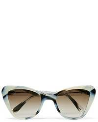 weiße Sonnenbrille von Prism