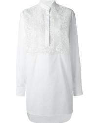 weiße Spitzetunika von Valentino
