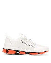 weiße Sportschuhe von Calvin Klein Jeans