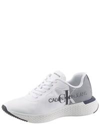 weiße Sportschuhe von Calvin Klein