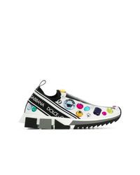 weiße Sportschuhe von Dolce & Gabbana