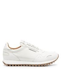 weiße Sportschuhe von Emporio Armani