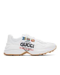 weiße Sportschuhe von Gucci