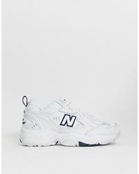 weiße Sportschuhe von New Balance