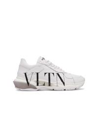 weiße Sportschuhe von Valentino