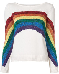 weiße Strick Bluse von Marc Jacobs