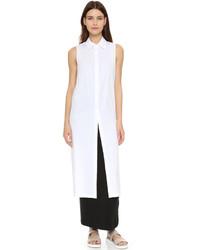 weiße Tunika von DKNY