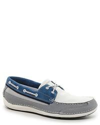 Weisse und blaue bootsschuhe original 3065145