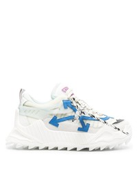 weiße und blaue Sportschuhe von Off-White