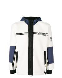 weiße und dunkelblaue Windjacke von Givenchy