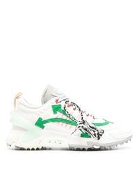 weiße und grüne Sportschuhe von Off-White