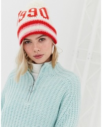 weiße und rote Mütze von New Look