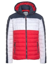 Und Daunenjacke Rote Weiße Dunkelblaue Tom Von Tailor 8OP0wnkX