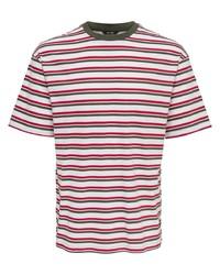 weiße und rote und dunkelblaue horizontal gestreifte Accessoires von ONLY & SONS