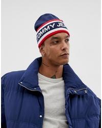 weiße und rote und dunkelblaue Mütze von Tommy Jeans