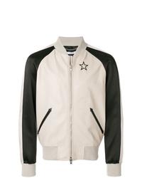 weiße und schwarze Bomberjacke von Givenchy