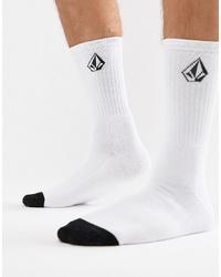 weiße und schwarze Socken von Volcom