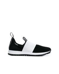 weiße und schwarze Sportschuhe von Jimmy Choo