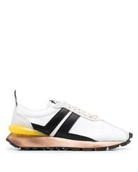 weiße und schwarze Sportschuhe von Lanvin