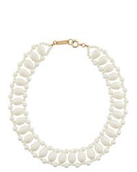 weiße Perlen Halskette von Isabel Marant
