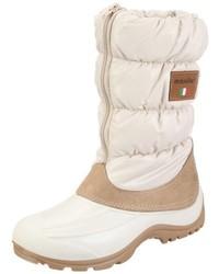 weiße Winterschuhe von Manitu