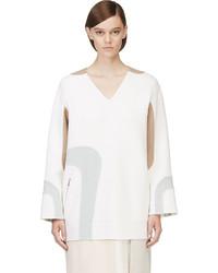 weiße Wolltunika von Marc Jacobs