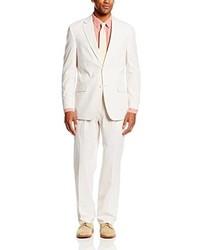 weißer Anzug aus Seersucker