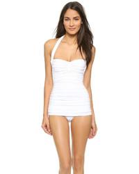 weißer Badeanzug von Norma Kamali