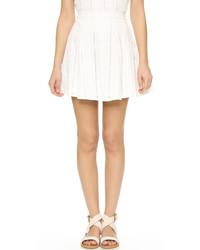e6b69fa78323 Modische weißen bestickten Rock für Winter 2019 kaufen   Damenmode