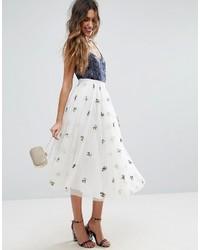 d50fd3efc6ae Modische weißen Tüllrock für Winter 2019 kaufen   Damenmode