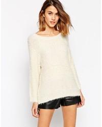 Pullover mit rundhalsausschnitt medium 174586