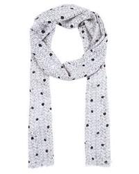 weißer gepunkteter Schal von Vero Moda