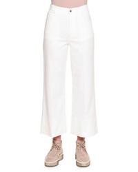 weißer Hosenrock aus Jeans
