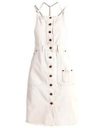 Weißer Jeans Kleiderrock von Pepe Jeans