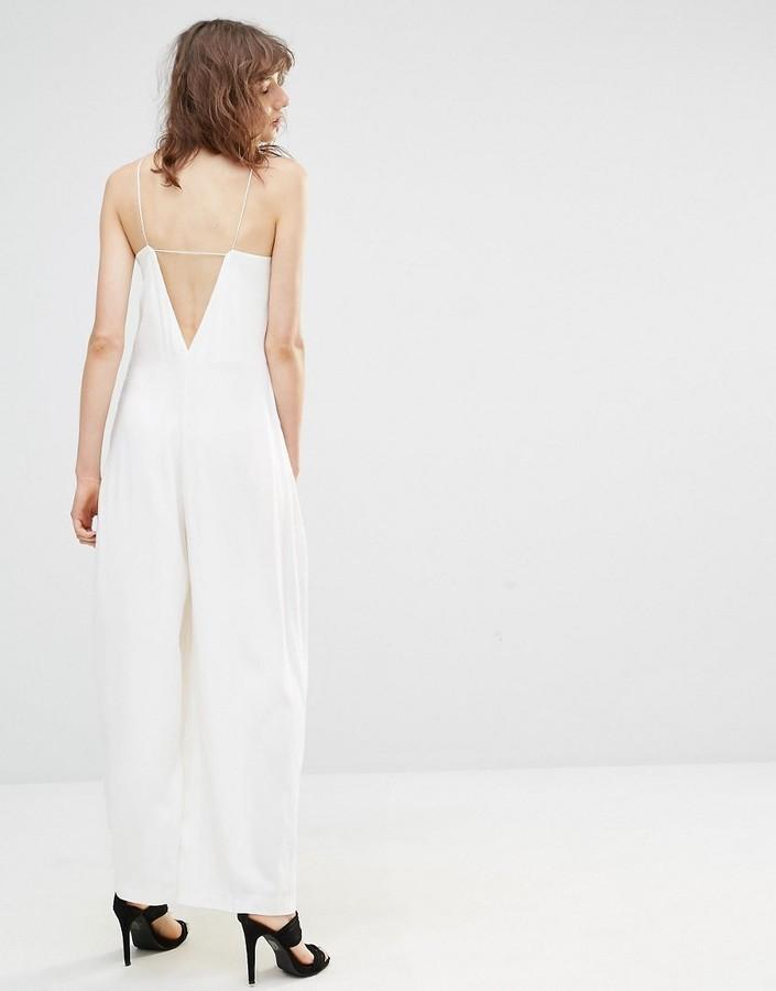 premium selection 21f4d 8444b €53, weißer Jumpsuit von Mango