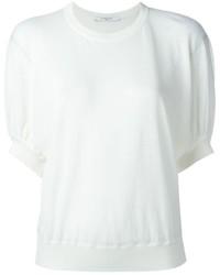 weißer Kurzarmpullover von Givenchy