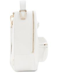 54407d19307c weißer Leder Rucksack von Versace   Wo zu kaufen und wie zu kombinieren