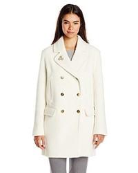 weißer Mantel von Maison Scotch