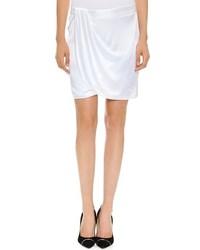 weißer Minirock von Versace