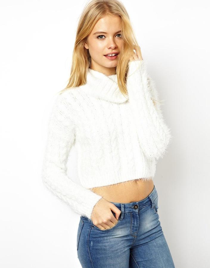 weißer Mohair Oversize Pullover von Asos   Wo zu kaufen und wie zu ... 67f062dc3e