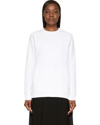 weißer Oversize Pullover von Acne Studios