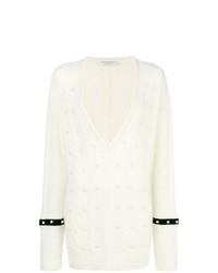 weißer Oversize Pullover von Philosophy di Lorenzo Serafini