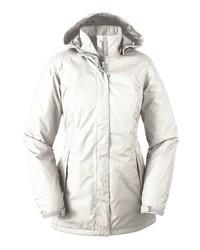 Modische weißen Parka für Damen für Winter 2019 kaufen   Damenmode e5a9d6f71c